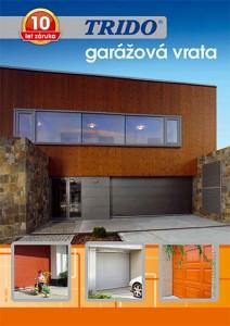Katalog sekčních garážových vrat značky TRIDO.